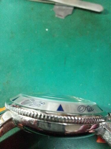 ガガミラノクロノグラフ6050.1ガラス交換