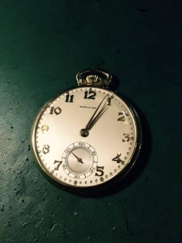 ハミルトン懐中時計 オーバーホールしました