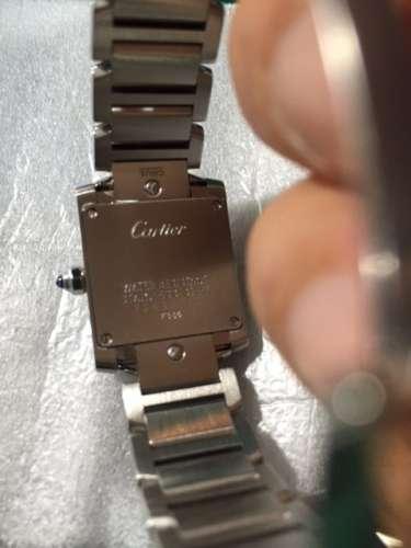 Cartier カルティエ タンクフランセーズ 2384 ケース・ベルト新品仕上げしました