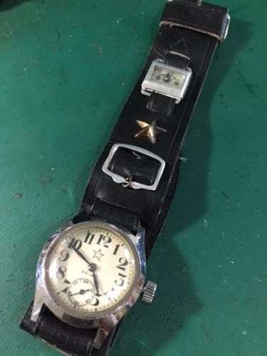SEIKOアンティーク手巻き時計 オーバーホールしました