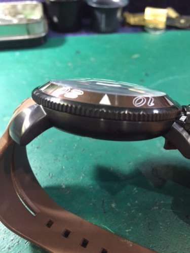 ガガミラノCHRONO 48MM 6054.5 ガラス交換しました