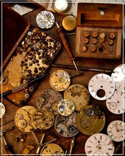 アンティーク時計の修理