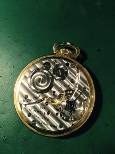ハミルトン懐中時計 オーバーホール