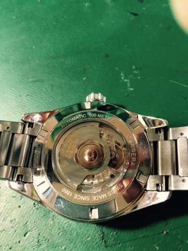 タグ・ホイヤーカレラ グランドデイト GMT WAR5010オーバーホールしました