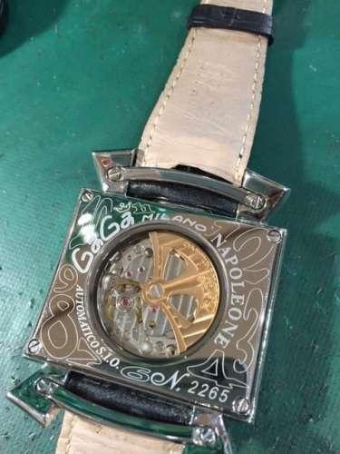 ガガミラノナポレオーネ6002.1D.5 ガラス交換しました