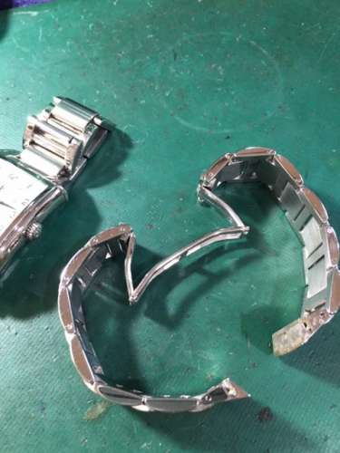 ジラール・ペルゴヴィンテージ1945 Ref.2594 ベルト修理