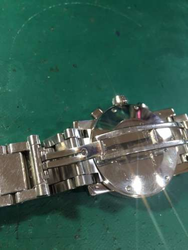 ジラール・ペルゴクロノグラフGP7000Ref.7030 オーバーホール、ベルト修理しました