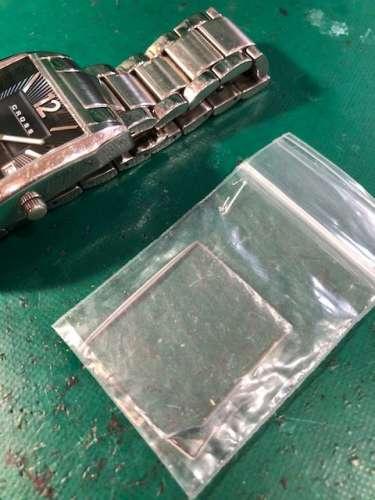 CROSS ガラス別注作製しました