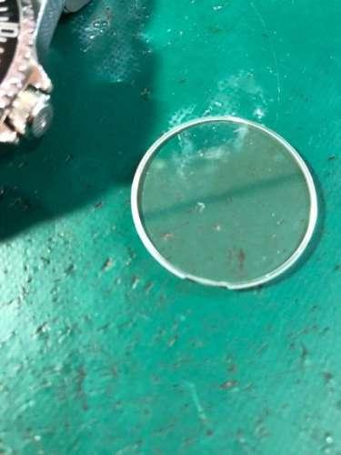 ロレックスサブマリーナーRef.14060オーバーホール、ガラス交換しました