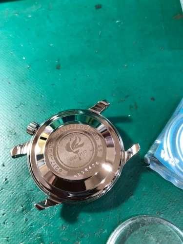 SEIKO セイコー ワールドタイム 6217-7000ガラス交換、ケース研磨しました