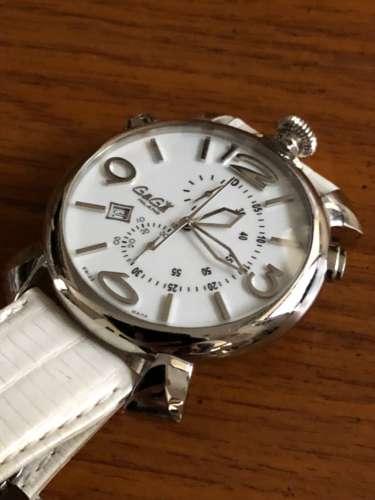ガラス交換後のガガミラノ腕時計