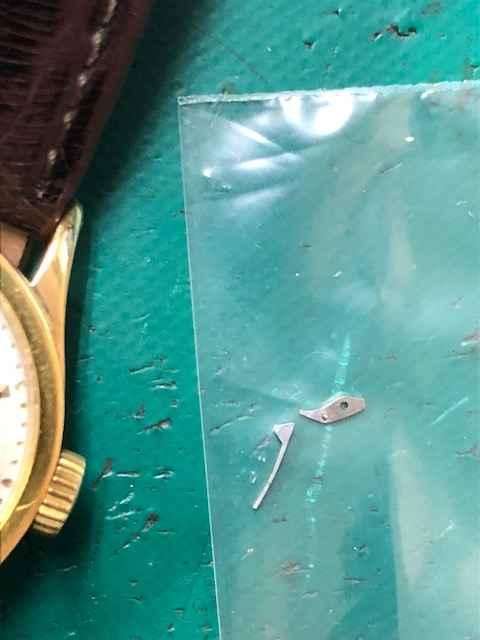 パテックフィリップカラトラバRef.96オーバーホール、ウラオサエ別作