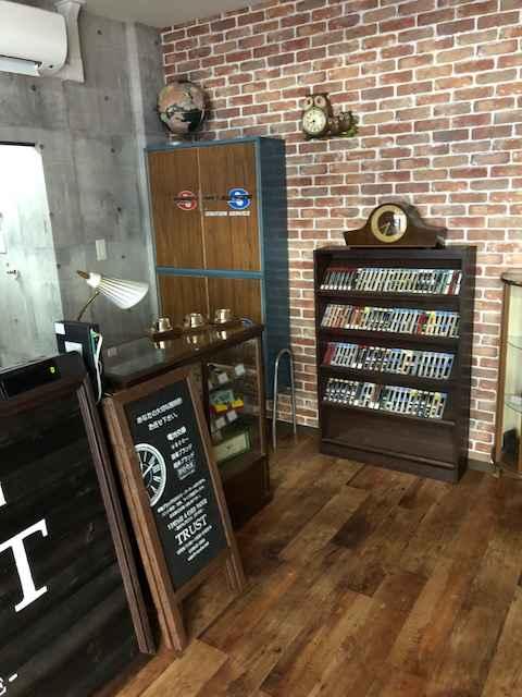 時計修理のウォッチ工房 by ヴィンテージ&ユーズド ウォッチ TRUST 店内風景です。⑦