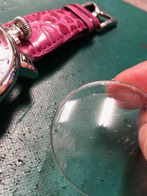 ガガミラノマニュアーレ48 Ref.5010.mosaico2Sガラス交換、インデックス修理しました