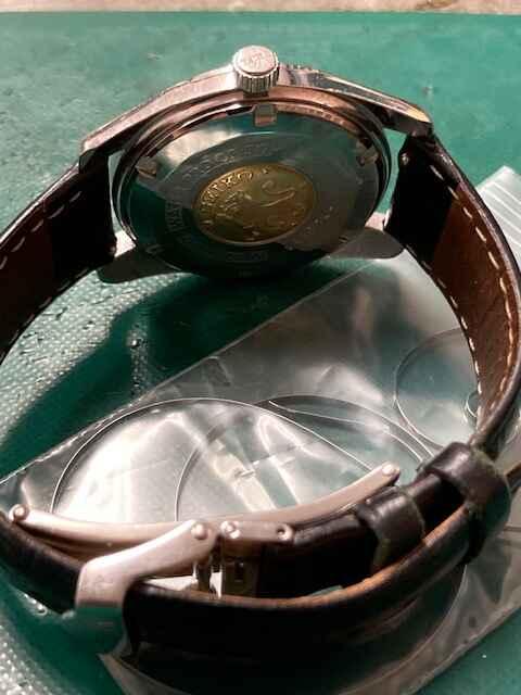 セイコーグランドセイコーRef5722-9990オーバーホール、ゼンマイ交換しました